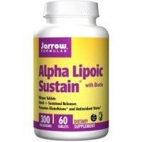Acid Alpha Lipoic Sustain 300mg, 30 tablete, Jarrow Formulas