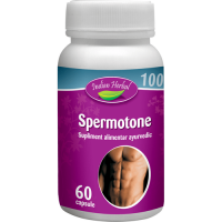 Spermotone, 60 capsule, Indian Herbal (pentru EL)