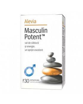 Masculin Potent, 30 comprimate,Alevia
