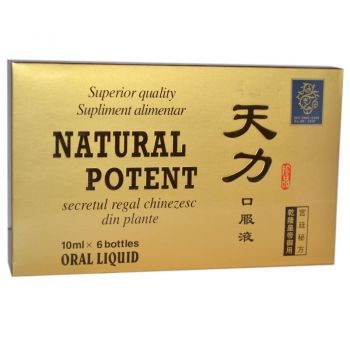 Natural Potent, 6 fiole, China